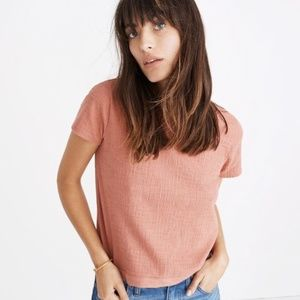 Madewell Verse Tie Back Top  - Coral
